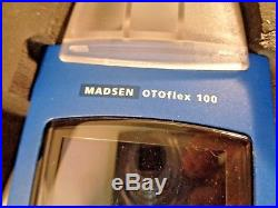 Madsen Otoflex 100 Tympanometer with extras VINTAGE NOT FOR USE