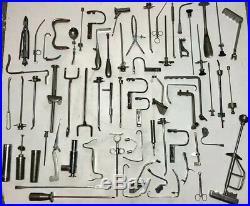 Massive Job lot x154 Surgical/Medical Equipment Vintage Antique Collectible