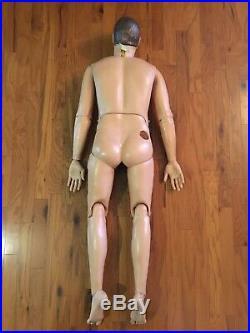 Medical Plastics Lab Adult Male Medical Training Manikin Dummy Vintage 1984