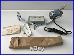 NOS Vintage FOREDOM Pulley Drive Dental Jeweler Drill Grinder Motor Hand Tool