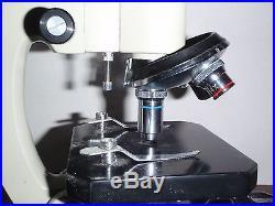 Nasco Microscope 10x 4x 40x Vintage Jx00501 Wf10x