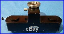 Nikon Forensic Comparison Microscope Dual Beam Splitter Head Vintage Black
