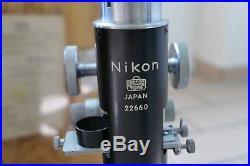 Nippon Kogaku (Nikon) Microscope POH Polarization vintage, rare