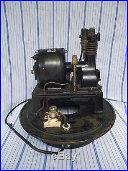 Old Vintage The Janette Dental Air/Vacuum Compressor Type N (Works!) 110 volts