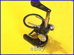Old vintage Winkell Zeiss Gottingen Microscope