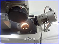 Olympus Tokyo JM Trinocular Gem Microscope Vintage