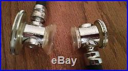 Pair Vintage Hewlett Packard Rappaport Sprague Stethoscope Waltham Mass