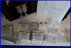 RARE VINTAGE 70's Sugar Babe Educational Medical Doll Child Diabetes Set Kit