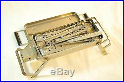 RARE Vintage AESCULAP Sterilizer Container Sterilization Tray SB-13715 + Tools