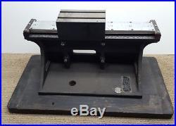 RARE Vintage Spencer Lens Co. American Optical Sliding Block Microtome, AO Base