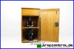 RHEIN-OPTIK Leitz Wetzlar Monocular Microscope VINTAGE 3 Objectives 6 Eyepieces