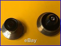 Reichert Mikroskop Polarisationsaufsatz / Vintage microscope polarization device