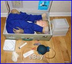 Resusci Anne CPR Simulator Full Body Manikin VINTAGE