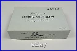 Schiotz Pilling Tonometer Vintage