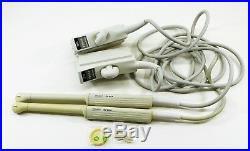 Set of 2 Vintage SIEMENS Acusan EV-8C4 Ultrasound Transducer Probes Endovaginal