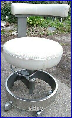 Siemens dentist zahnarzt chair stuhl industrial sirona vintage design work alu