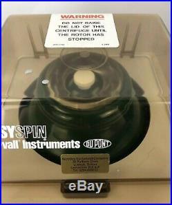 Sorvall Easyspin Dupont Centrifuge Vintage Medical Instrument Equipment Working