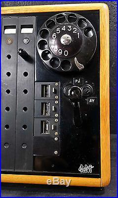 Telephone Swicht LM Ericsson Vintage