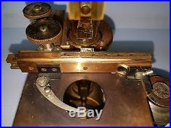 The Cadillac Of Vintage Bausch Lomb Microscopes 1897