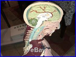 VINTAGE 1950s NYSTROM MEDICAL BIOLOGICAL DUMMY MANIKEN REMOVABLE INSIDES/PARTS