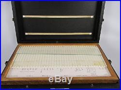 Vintage Dental Crowns Tool Box/case With Drawers H Gerstner & Sons