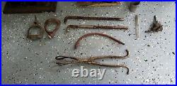 VINTAGE Lot of Medical Surgical Equipment GOMCO Aspirator, A. S. Aloe, Forceps