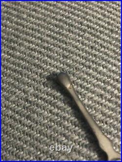 VINTAGE Medical Equipment Ear Spoon & Tweezers 2.5 Long