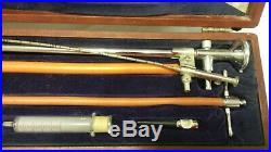 VINTAGE SCHINDLER FLEXIBLE GASTROSCOPE OPERATING Medical Equipment Doctor Kit