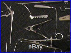 VINTAGE Surgical Instruments Lot STAINLESS STEEL V. MUELLER LAWTON SKLAR RARE