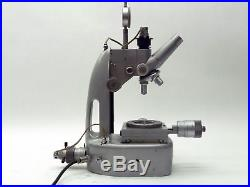 VINTAGE UNITRON TMS-2933 TOOL MAKERS TOOLMAKERS MEASURING MICROSCOPE withOBJECTIVE