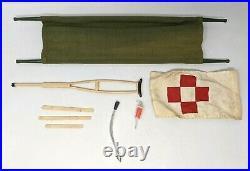 VTG 1964 Hasbro GI Joe Action Marine Medic Set #7719 Accessories Equipment Gear