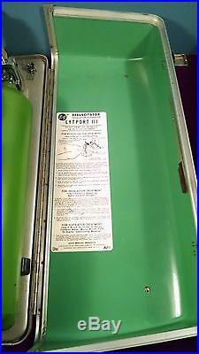 Vtg E&j Lytport III Resuscitator Inhalator Aspirator Fire Medical Rescue Rare