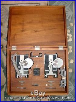 Vintage 170-105-01 Norelco Philips Electronic Instruments Free Shipping