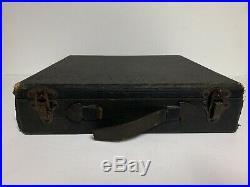 Vintage 1930's Anesthetic Medical Equipment in Felt Lined BoxBurton Mfg Co