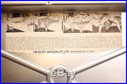 Vintage 1930s Portable Medical Gynecology Exam Table Kink BDSM Restraints
