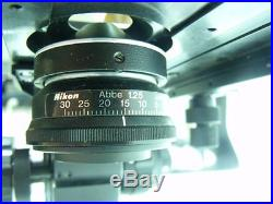 Vintage 1979 Nikon SC BINOCULAR Teaching Microscope Parts or Repair