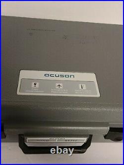 Vintage ACUSON Protective Medical Equipment Case 55715 Excellent Condition