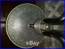 Vintage Abco Pedigo Chrome Adjustable Ivory Stool