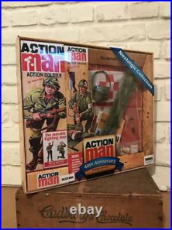 Vintage Action Man Medic Action Figure with Medic Equipment 40th Anniversary