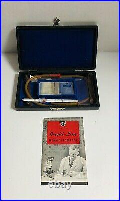 Vintage Adams Hemacytometer (medical equipment)