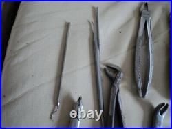 Vintage / Antique Dentist Equipment Tools Etc