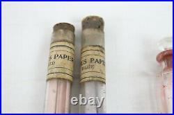 Vintage Antique Litmus Glass Vile Medical Equipment Hynson Westcott Bottle Lab