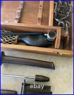 Vintage/Antique Medical Sigmoidoscopy Equipment in Original Box