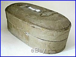 Vintage / Antique Oval Medical Equipment Box