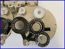 Vintage B&L Bausch & Lomb Refractor Phoropter Eye Exam Tool