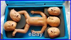 Vintage Baby CPR Training Dummy Mannequin For First Aid Responder School Nurse