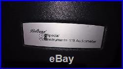 Vintage Beltone 119 Audiometer