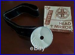 Vintage Boilo Doctor's HEAD MIRROR Medical Gear Exam Equipment in Box