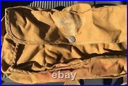 Vintage Boy Scout / BSA Canvas Medical bag with strap Hiking & Hunting