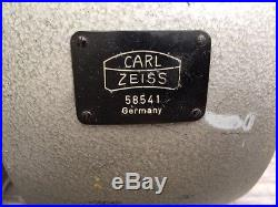 Vintage Carl Zeiss Circle Polarimeter 0.01 Degree withmany accessories